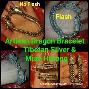 Artisan Dragon Tibet Silver Hmong Miao Silver